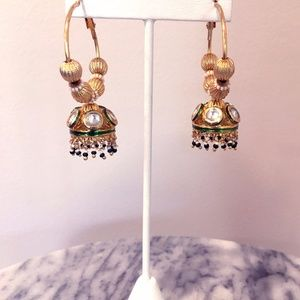 Jewelry - Traditional Indian Bell Statement Earrings